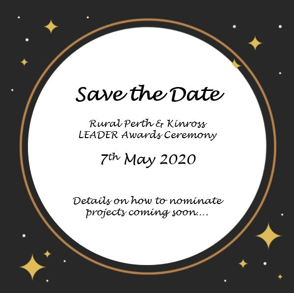 LEADER Awards - save the date 7th May 2020